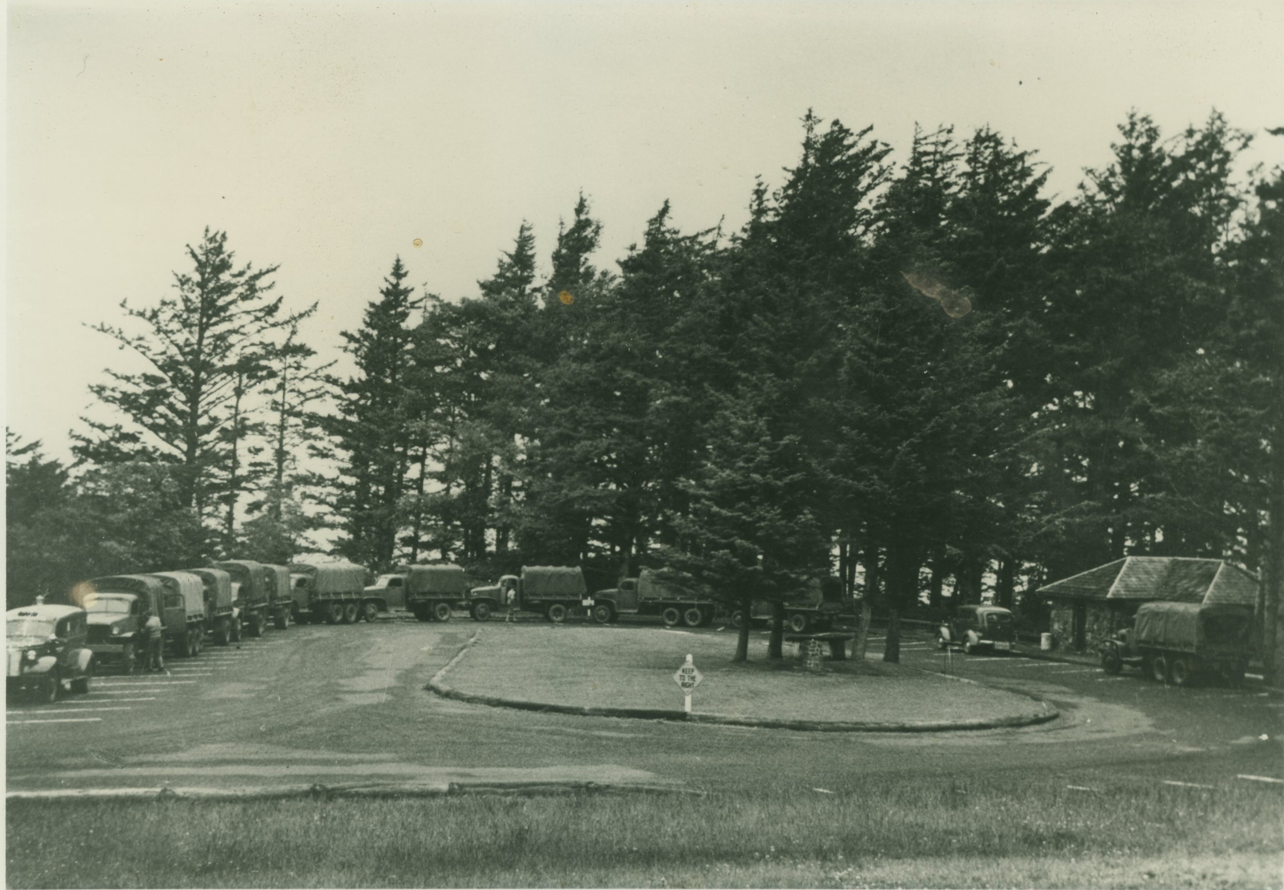 The CCC camp at Ecola State Park.