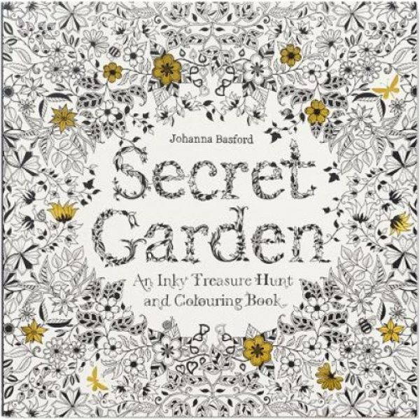 Adult Coloring Book Secret Garden An Inky Treasure Hunt And