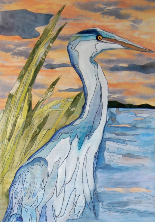 """Wetland Blues"" by Emily Stevens (cropped), High Fiber Diet."
